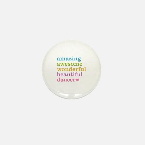 Unique Ballet dance Mini Button