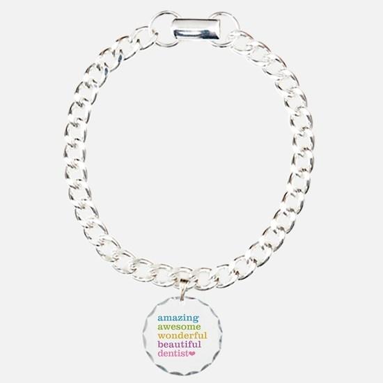 Cute Dentist Charm Bracelet, One Charm