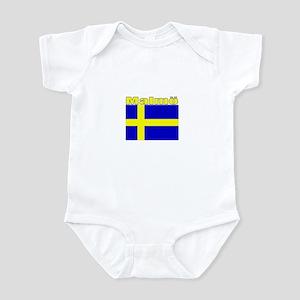 Malmo, Sweden Infant Bodysuit