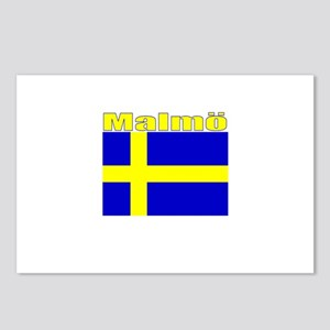 Malmo, Sweden Postcards (Package of 8)