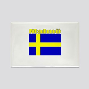 Malmo, Sweden Rectangle Magnet