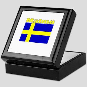 Malmo, Sweden Keepsake Box