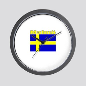 Malmo, Sweden Wall Clock