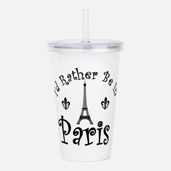 PARIS Acrylic Double-wall Tumbler