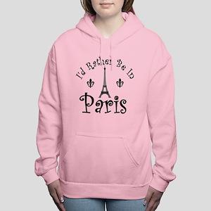 PARIS Women's Hooded Sweatshirt
