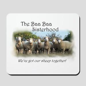Mousepad ~Baa Baa Sisterhood Group