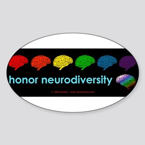 neurodiversity  bumpersticker Sticker