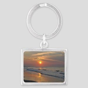 Sunrise Landscape Keychain