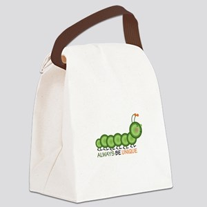 Always Be Unique Canvas Lunch Bag