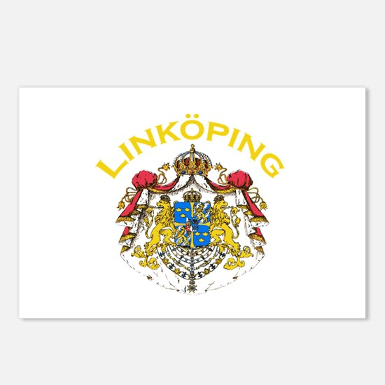 Linkoping, Sweden Postcards (Package of 8)