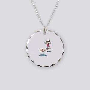 Girl Gymnast Necklace
