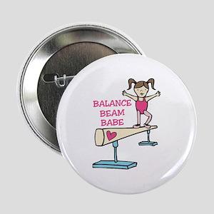 "Balance Beam Babe 2.25"" Button"