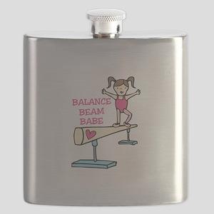 Balance Beam Babe Flask