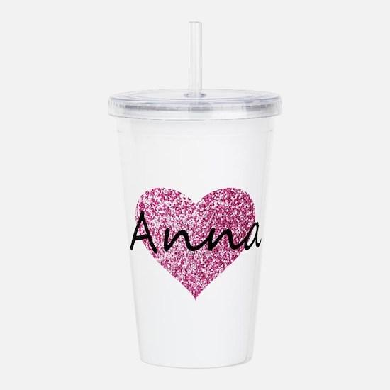 Anna Acrylic Double-wall Tumbler