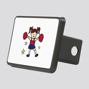 Cheerleader Girl Hitch Cover