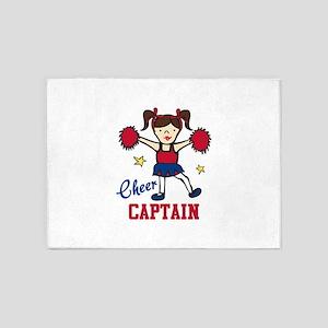 Cheer Captain 5'x7'Area Rug