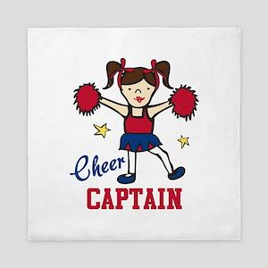 Cheer Captain Queen Duvet
