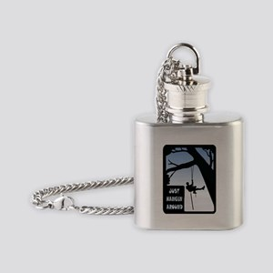 HANGING AROUND Flask Necklace