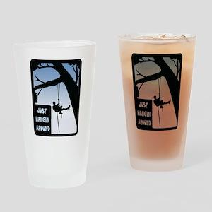 HANGING AROUND Drinking Glass