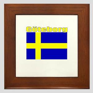 Goteborg, Sweden Framed Tile