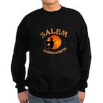 Salem Massachusetts Witch Sweatshirt (dark)
