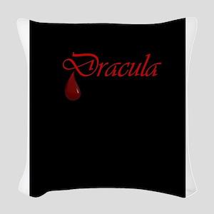 Dracula Woven Throw Pillow