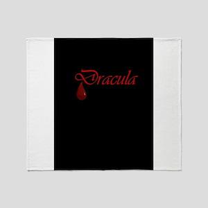 Dracula Throw Blanket