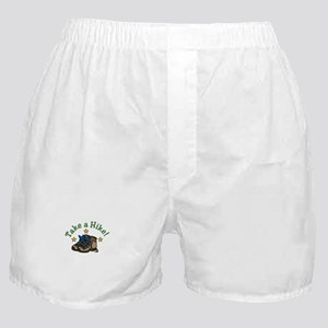 Take a Hike! Boxer Shorts