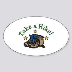 Take a Hike! Sticker