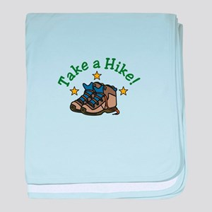 Take a Hike! baby blanket