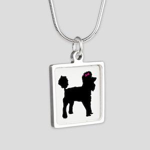 Black Poodle Necklaces