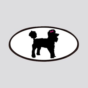 Black Poodle Patches