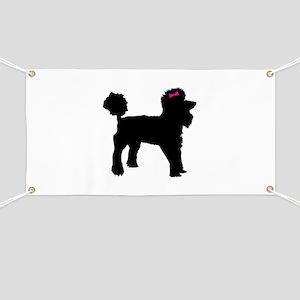 Black Poodle Banner