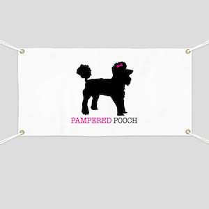 pampered pooch Banner
