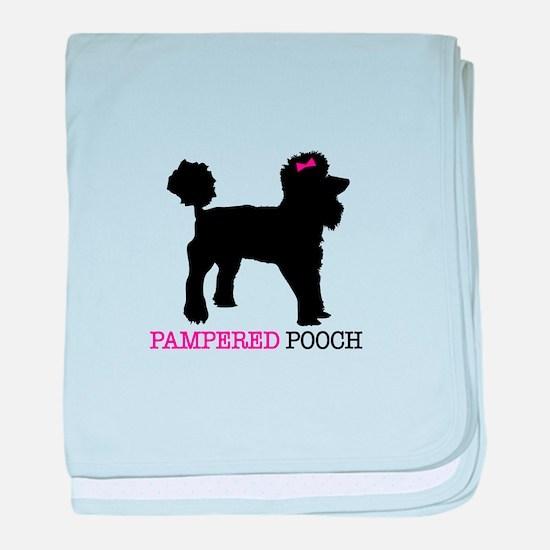 pampered pooch baby blanket