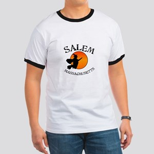 Salem Massachusetts Witch Ringer T