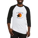 Salem Massachusetts Witch Baseball Jersey