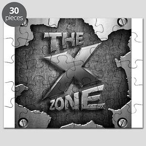 The X Zone Logo Steel Box_8x8 Puzzle