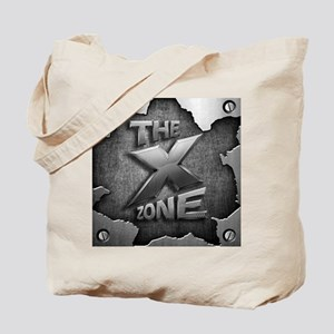 The X Zone Logo Steel Box_8x8.jpg Tote Bag