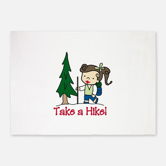 Take a Hike 5'x7'Area Rug