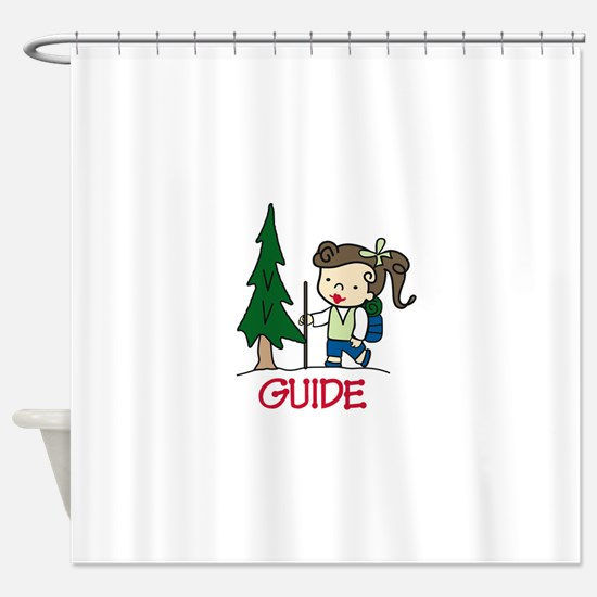 Guide Girl Shower Curtain