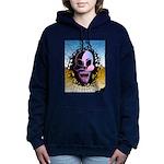 skull Women's Hooded Sweatshirt