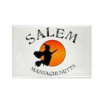 Salem Massachusetts Wit Rectangle Magnet (10 pack)