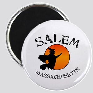 Salem Massachusetts Witch Magnet