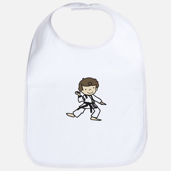 Karate Boy Bib