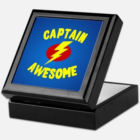 Cute Superhero Keepsake Box