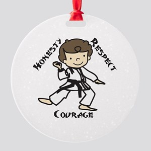 Honesty Respect Courage Ornament