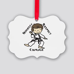Honesty Respect Courage Ornament