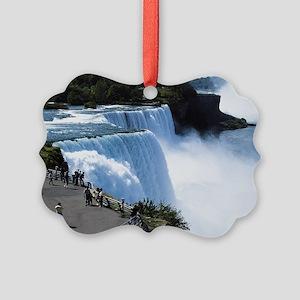 Niagra Falls Picture Ornament