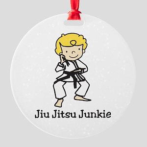 Jiu Jitsu Junkie Ornament